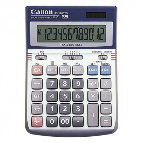 Canon HS-1200TS Calculator 12 Digits