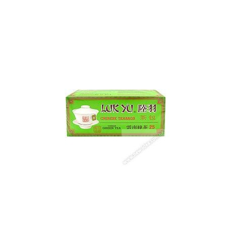 Luk Yu Chinese Teabags Yunnan Green Tea 25's
