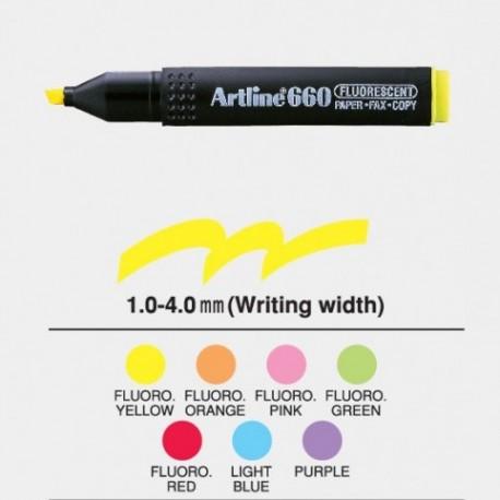 雅麗 EK-660 螢光筆 藍色/綠色/黃色/紅色/粉紅色/紫色/橙色