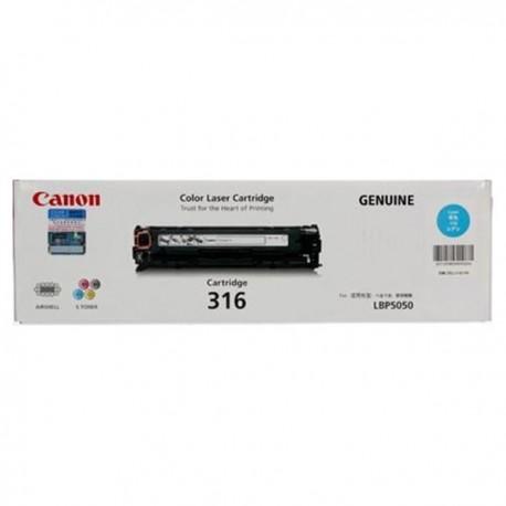 Canon 316C Toner Cartridge Cyan
