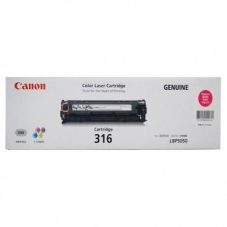 Canon 316M Toner Cartridge Magenta