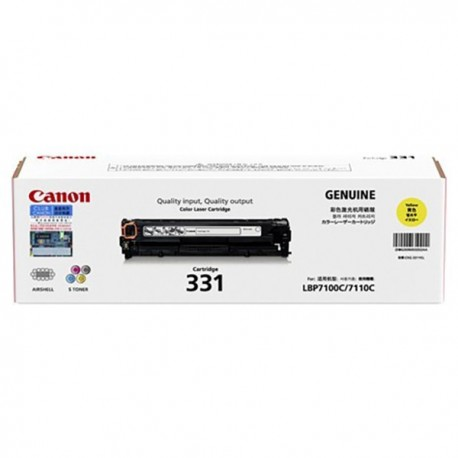 Canon 331Y Toner Cartridge Yellow