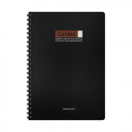 Gambol DS5000 PP Twins Wire Ring Note Book A5 60Pages