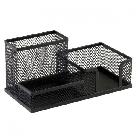 DELI 9175 Wire Desk Top Organizer black