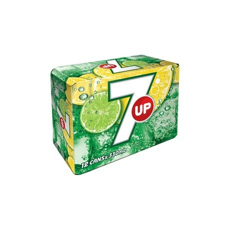 7-Up Soft Drink 330ml 12Cans