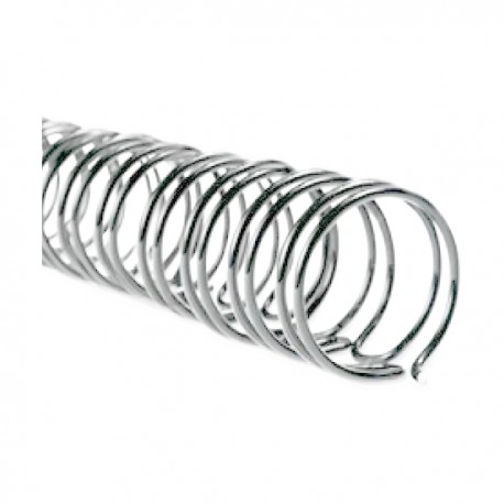 M&A 2:1 Double Wire Binding Ring A4 9.5mm 100's Silver