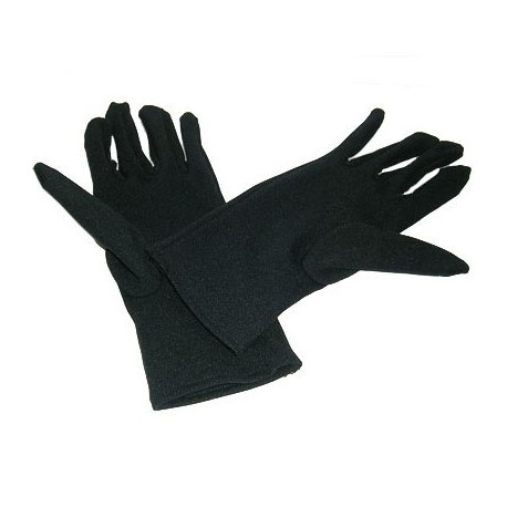 Cotton Gloves For Female 12Pairs Black