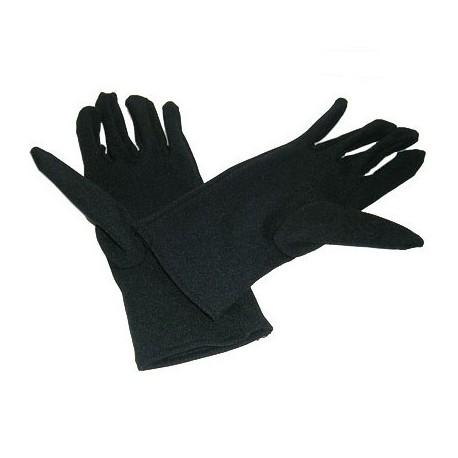 女裝綿質手套 黑色 12對