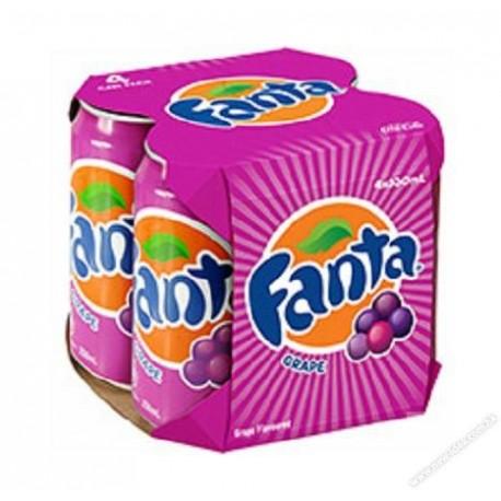 Fanta Soda Soft Drink Grapefruit Flavored 330ml 4Cans