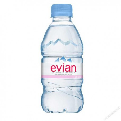 Evian Mineral Water 330ml (24bottle / Box)