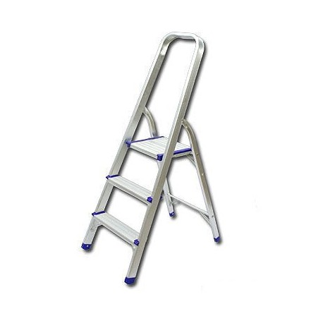 Single Side With Handle 3-Step Ladder