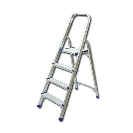 Single Side With Handle 4-Step Ladder