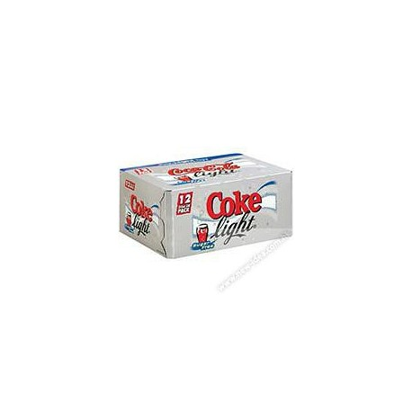 Coca-Cola Light Soft Drink 330ml 12Cans