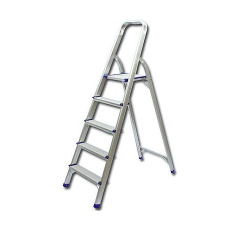 Single Side With Handle 5-Step Ladder