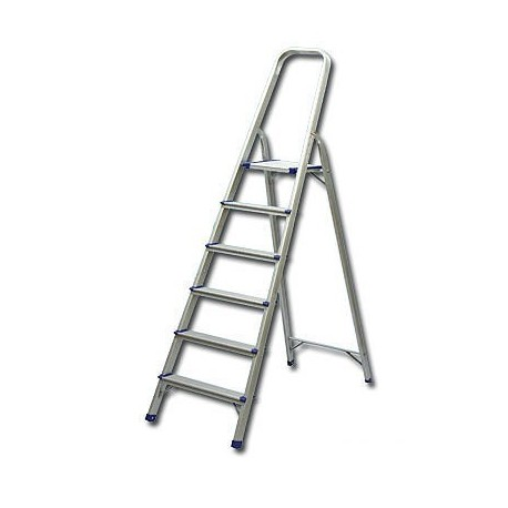 Single Side With Handle 6-Step Ladder