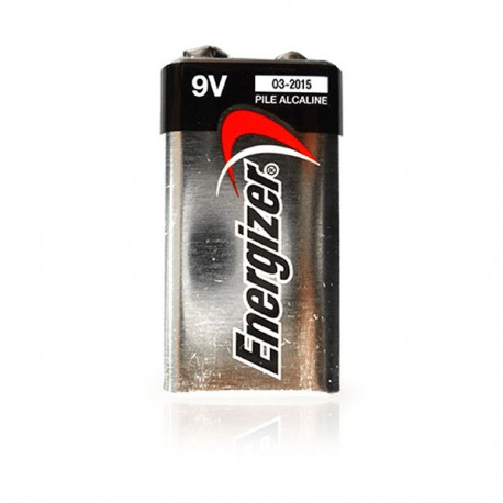 Energizer Alkaline Battery 9V Shrink Plastic Bag