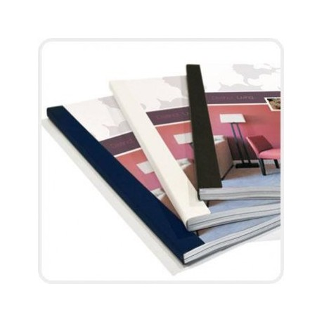 M&A Thermal Binding Cover A4 6mm 50's Blue