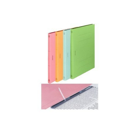 Lion 518-A4S Paper File Blue/Green/Pink/Yellow
