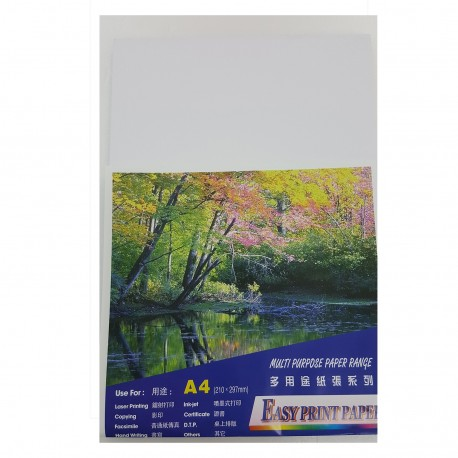 Easy Print Paper Mulit Purpose Paper A4 140gsm 50Sheets