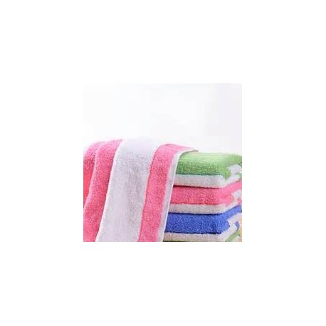 "Colour Stripe Towel 13""x30"""