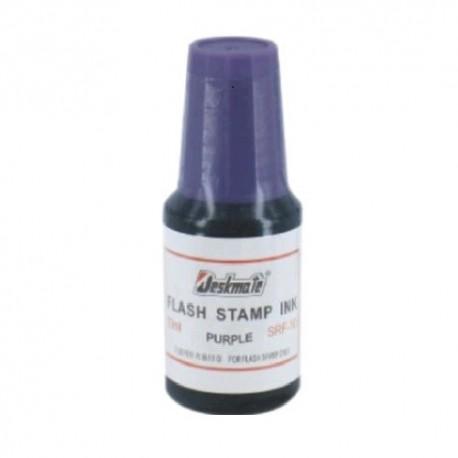 Deskmate Stamper Ink 10ml Purple