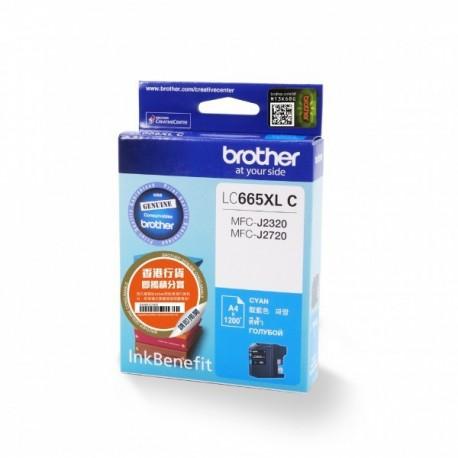 Brother LC-665XL Ink Cartridge Cyan