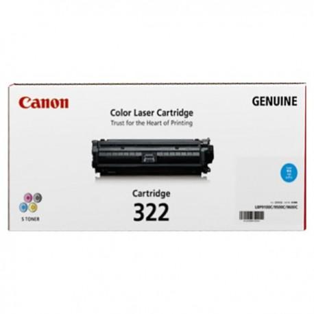Canon 322C Toner Cartridge Cyan