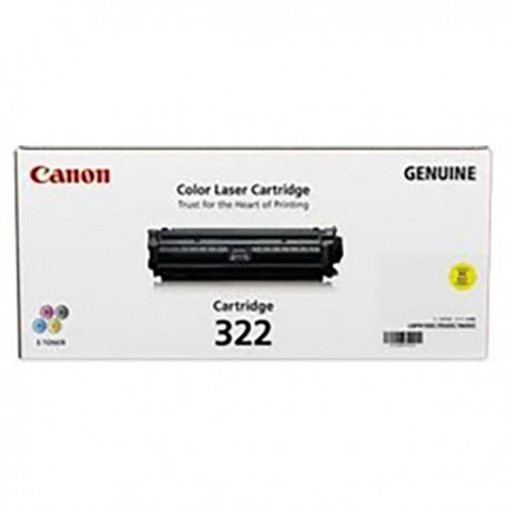 Canon 322Y Toner Cartridge Yellow