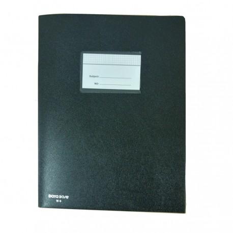 Database W-9 膠質雙內袋快勞 黑色 A4 12個裝