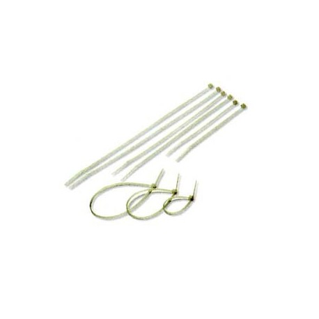 "Cable Tie 8""x4.8mm 100's White"