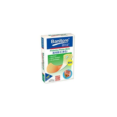 Banitore Protective Plaster 100's Skin