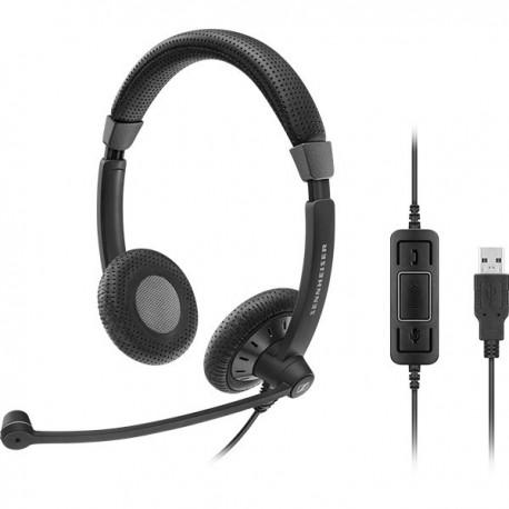 Sennheiser SC70 USB CTRL BLACK UC Headset