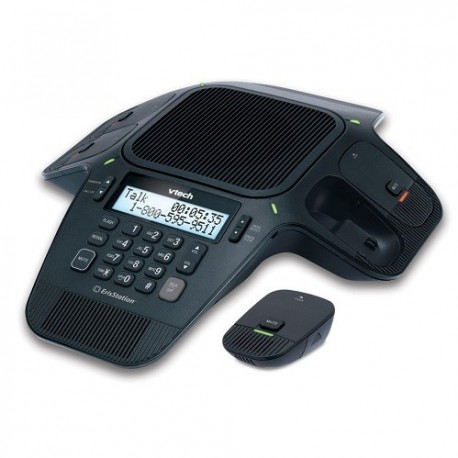 vTech VCS704 Wired Conference Phone with 4 Wireless Microphone