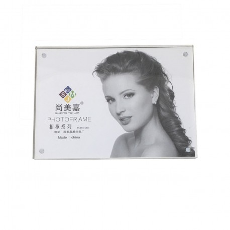 Crystal Photo Frame Magnetic 5R