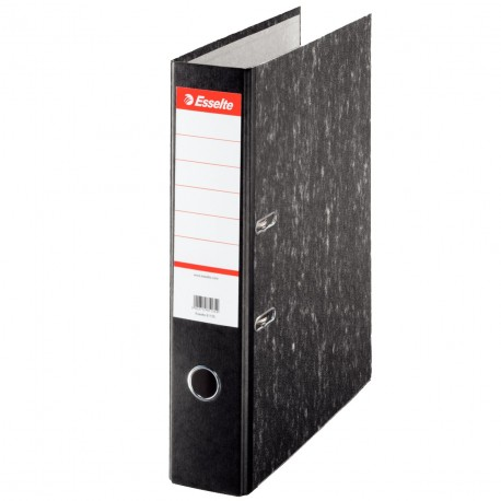"""Esselte Marble Lever Arch File w/Pocket A4 2"""""""