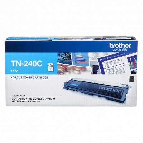 Brother TN-240C 碳粉盒 藍色