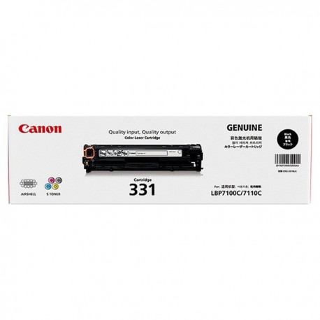 Canon 331BK Toner Cartridge Black