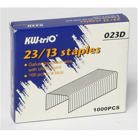 KW-triO 23 Series Staples for Heavy Duty Stapler 30-200Sheets