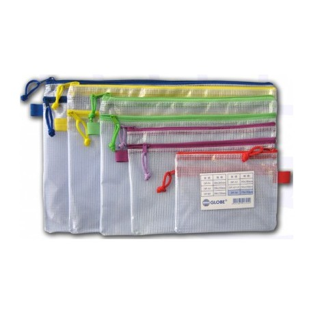 Twins Zipper Mesh Bag 440mmx335mm A3