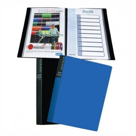 Bantex 13149 Clear Holder A4 80Pages Black