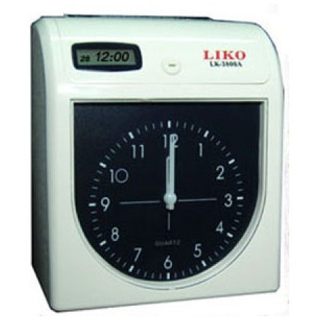 LIKO 3800A Electronic Time Recorder