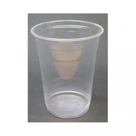 Plastic Cup 414ml 10's Transparent