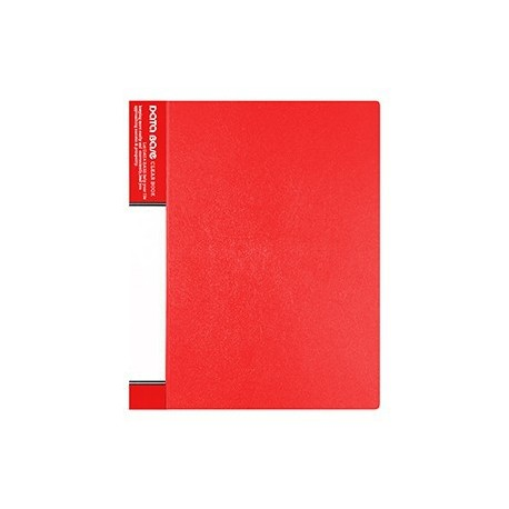 Database MT10 Clear Holder A4 10Pages Red