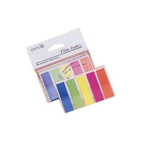 Stick-N 21050 Film Index 12mmx45mm 5Colors