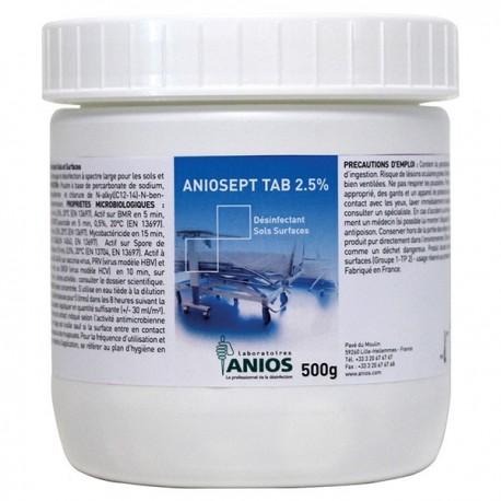 Medicom Anios Aniosept Tab 2.5% Disinfection Tablets 150's