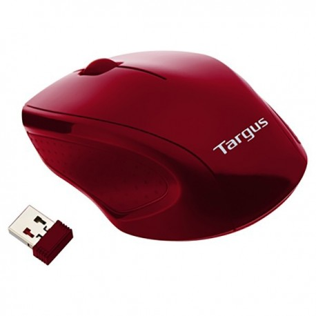 Targus AMW57102 Wireless Optical Mouse Red