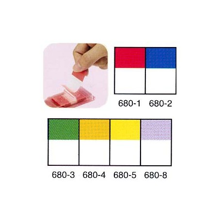 3M Post-it 680-6 Flags White