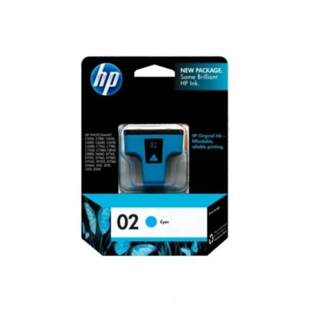 HP C8771 NO.02 Ink Cartridge Cyan