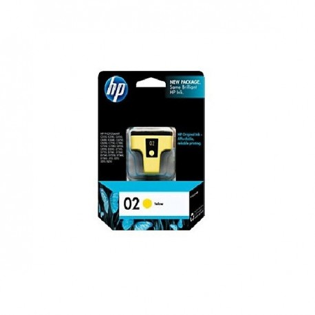HP C8773 NO.02 Ink Cartridge Yellow
