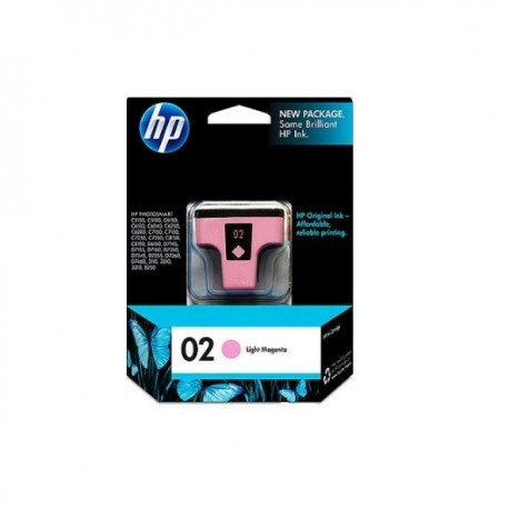 HP C8775 NO.02 Ink Cartridge Light Magneta